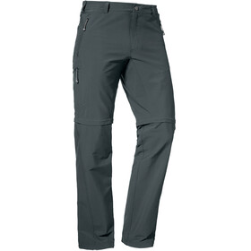 Schöffel Koper Zipp Off Pants Short Men charcoal